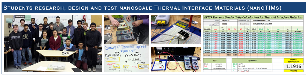 Nanotechnology Research: Creating nanoscale thermal interface materials.