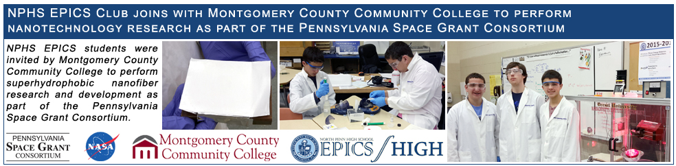 EPICS students begin PA Space Grant Consortium research!